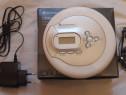 Cd player portabil mp3 soundmaster CD9180, alb, antisoc, bas