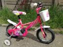 Bicicleta copii fetite 3-5 ani