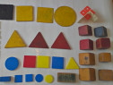 Jocuri/Figuri geometrice vechi anii 1960'70,Mecano,Cartonase