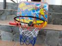 SET Cos de baschet cu minge si pompa pentru copii
