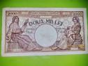 C563-Bancnota Romania veche 2000 lei 1941. Pret pe bucata.