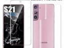 Folie Silicon Curbata Fata Spate Samsung S21 S21 + S21 Ultra