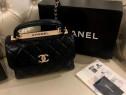 Geanta Chanel cu mâner/Franța, saculet inclus