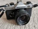 Aparat foto SLR Fujica ST605 cu obiectiv Fujinon 55mm 1/2.2