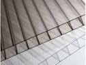 Policarbonat monocameral transparent/ fumuriu 6x2100x6000 mm