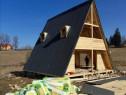 Cade cabane lemn forma literei A
