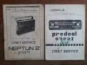 Lot 10 caiete de reparatii, service pentru aparate de radio
