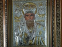 Icoana Sfântul ierarh nicolae Argintata