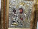 Icoana Maicii Domnului cu trei maini-Tricherousa Argintata