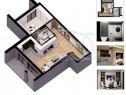 Apartament finisat in bloc exclusivist, zona Golden Tullip