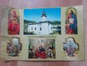Vedere / carte postala,-Manastirea Agapia