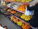 Rafturi metalice de magazin pentru legume si fructe