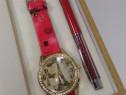 Set ceas și pix vintage cu tema Paris