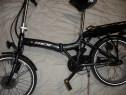 Bicicleta electrica, pliabila din aluminiu