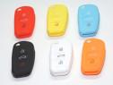 Husa silicon Audi A3,A4,A6,Q7 diverse culori pt cheie 3 but