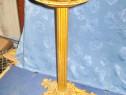 2131-Scrumiera stativ mare veche bronz perioada 1900.