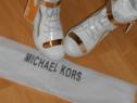 Ssneakers Michael Kors/logo metalic auriu/nr 27 38 39