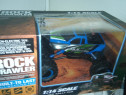 RC Blue JEEP Rock tractiune 4x4 acumulator radiocomanda