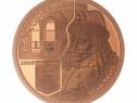 Monedă de Tombac 550 Ani Prima Atestare Vlad Țepeș 2009 23,5
