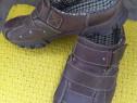 Papuci piele ''Pesaro'' mar 40 (25 cm),