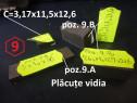 Placute vidia pentru cutite de strung