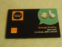 Pachet Orange PrePay, cartelă SIM cu număr, sigilată