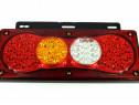 Lampa stop smd s/d, 12/24 v, 61 led-uri smd rezistenta la ap