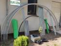 Solar metalic pentru legume si flori 12 m lungime /4 m desch