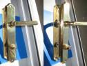 1228-Shielduri HOPE aparatori broasca usi metal aurit.