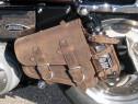 Cob geanta piele lateral harley davidson