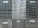 Tabla otel perforata decorativa. Perforatii decorative