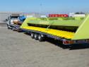 Tractari auto Transport utilaje Platforma 9m