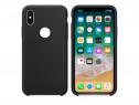 Husa telefon Silicon Apple iPhone X Black PRODUS NOU