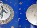Medalie mare Fotbal Italia B 1903-1994-metal argintat.