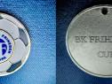 Medalia Fotbal BF BoltKlubben Hvidovre Suedia. Alama emailat