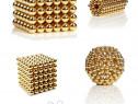Puzzle magnetic Tesla Balls stelar gold(auriu),bile,neocube