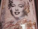 Reclama Metalica 3D Mare -Marilyn Monroe--un Cadou inedit