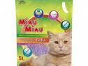 Asternut Pisici Miau Miau Tofu Lavanda, 5 L