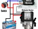 Webasto Modul Pornire/Functionare