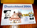 A165-Album monedele germane UNC 2000 colectie numismatica.