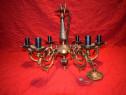Candelabru cu 6 brate din bronz