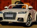 Mașinuta electrică pentru copii Audi TTS 2x 30W 12V #Alb