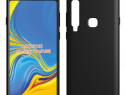 Samsung a7 a8 a9 2018 - pachet husa silicon + folie sticla