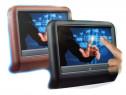 Set Monitoare Dvd Tetiera Touchscreen Negru 2 Buc