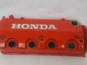 Capac Motor Supape Honda Civic CRX D16 Rosu + Garnituri