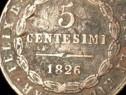 5 centesimi 1826 Bologna STATELE ITALIENE
