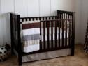 Patut bébé din lemn masiv import Italia