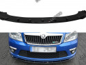 Prelungire splitter bara fata Skoda Octavia MK2 RS FL v6