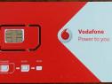 Cartela SIM Vodafone cu număr ușor