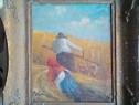 Pictură veche(1930) în ulei pe pânză